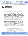 Campus News November 23, 1994