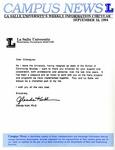 Campus News September 16, 1994