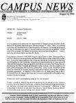 Campus News August 4, 1995