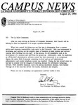 Campus News August 25, 1995