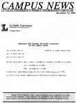 Campus News December 22, 1995
