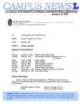 Campus News January 6, 1995
