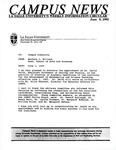 Campus News June 9, 1995