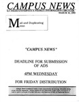 Campus News March 10, 1995