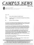 Campus News April 4, 1996
