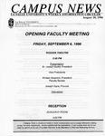 Campus News August 30, 1996