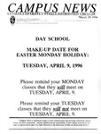 Campus News March 29, 1996