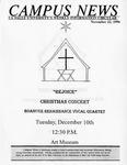 Campus News November 22, 1996