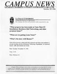 Campus News October 25, 1996