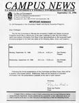 Campus News September 13, 1996
