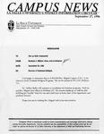 Campus News September 27, 1996