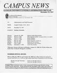 Campus News December 12, 1997