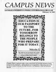 Campus News February 14, 1997