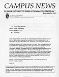 Campus News February 21, 1997