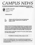 Campus News January 17, 1997