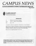 Campus News May 9, 1997