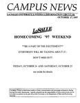 Campus News October 17, 1997
