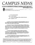 Campus News September 19, 1997