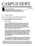 Campus News January 12, 2001