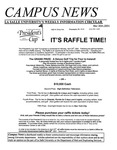 Campus News March 30, 2001