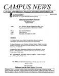 Campus News November 9, 2001