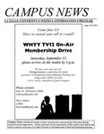 Campus News September 7, 2001