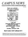 Campus News February 1, 2002