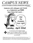 Campus News April 18, 2003