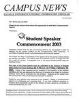 Campus News February 14, 2003
