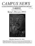 Campus News January 17, 2003