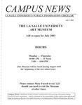 Campus News July 3, 2003