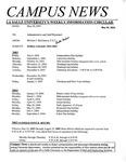 Campus News May 30, 2003