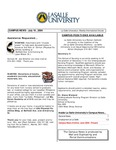 Campus News July 16, 2004