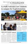 The La Salle Collegian Vol. 93 Explorientation Issue by La Salle University