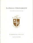 Graduate Commencement One Hundred and Forty Ninth Year 2012 by La Salle University