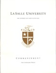 Undergraduate Commencement One Hundred and Forty Ninth Year 2012 by La Salle University