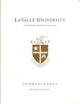 Undergraduate Commencement One Hundred and Fifty Second year 2015 by La Salle University