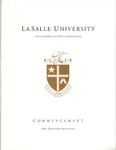 Graduate Commencement One Hundred and Fifty-Fourth year 2017 by La Salle University