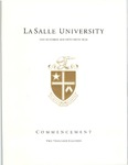 Graduate Commencement One Hundred and Fifty-Fifth year 2018 by La Salle University