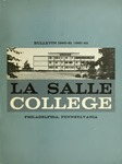 La Salle College Bulletin: Catalogue Issue 1960-1961 / 1961-1962