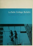 La Salle College Bulletin: Catalogue Issue 1964-1965 / 1965-1966