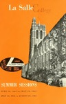 La Salle College Bulletin Summer Sessions 1965