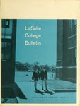 La Salle College Bulletin: Catalog Issue 1966-1967