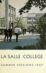 La Salle College Bulletin Summer Sessions 1967