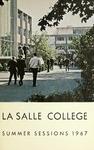 La Salle College Bulletin Summer Sessions 1967