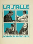 La Salle College Bulletin: Catalog Issue 1970-1971
