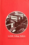 La Salle College Bulletin: Evening Division Announcement 1970-1971
