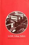 La Salle College Bulletin: Evening Division Announcement 1970-1971