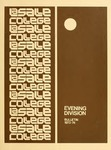 La Salle College Bulletin: Evening Division Announcement 1973-1974