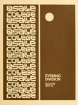 La Salle College Bulletin: Evening Division Announcement 1973-1974